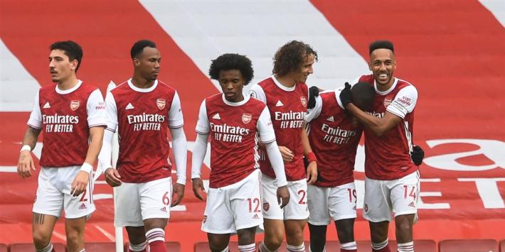Premier League: Krappe zege Arsenal, Fulham verliest opnieuw