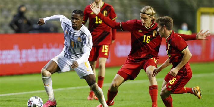 België geeft oefenzege weg, nieuwe Engelse doelpuntenmakers