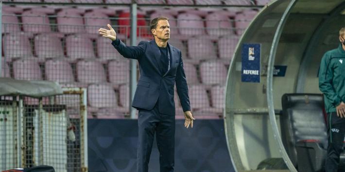 De Boer kiest tegen Italië voor vijf verdedigers, geen Berghuis