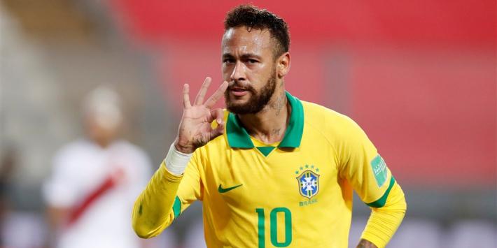 Neymar scoort hattrick en is Ronaldo voorbij op topscorerslijst