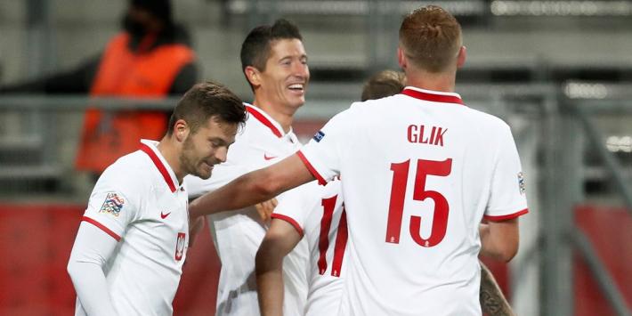 Groep Oranje: Lewandowski loodst Polen langs Bosnië