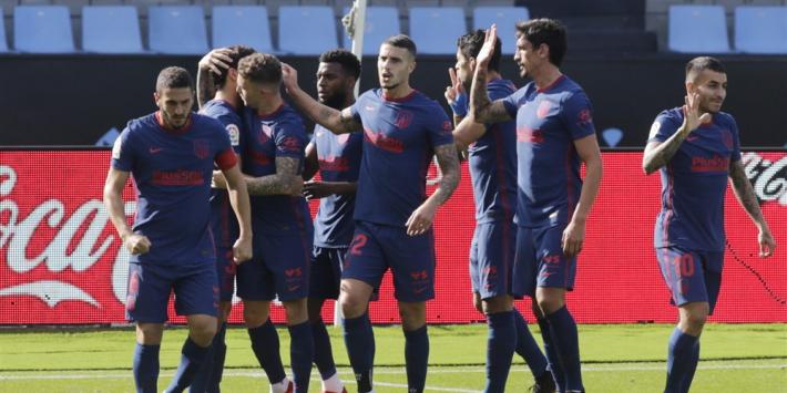 Suárez leidt Atlético Madrid naar tweede seizoenszege