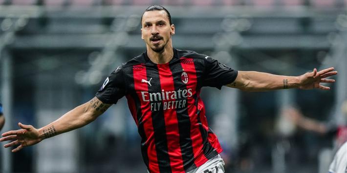 'Koploper AC Milan wil doorpakken en verlengen met Ibrahimovic'