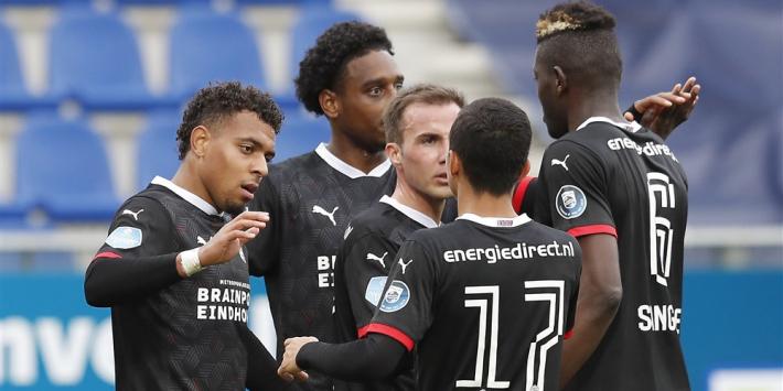 PSV dankzij goal Götze en heel matig PEC Zwolle naar koppositie