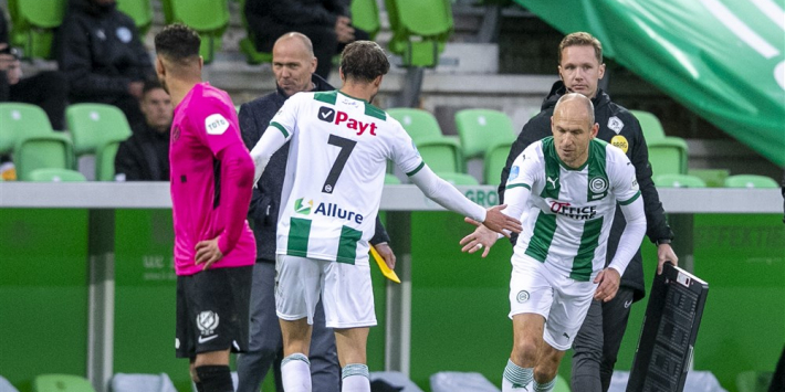 'Robben wil over twee weken tegen PSV rentree maken'