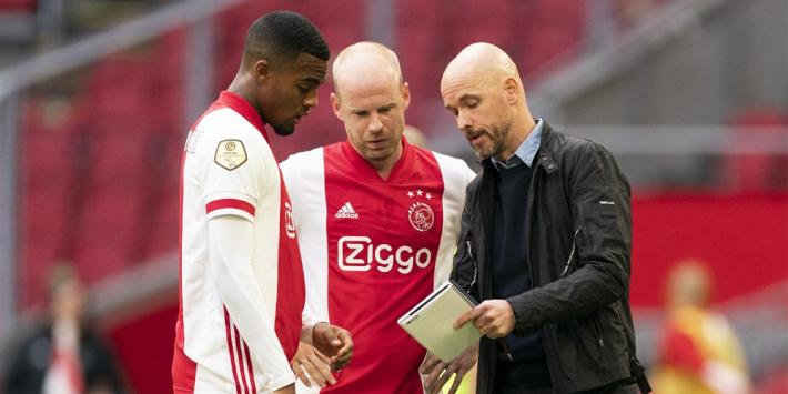 Ajax in 4-4-2: Blind op middenveld, Promes op bank