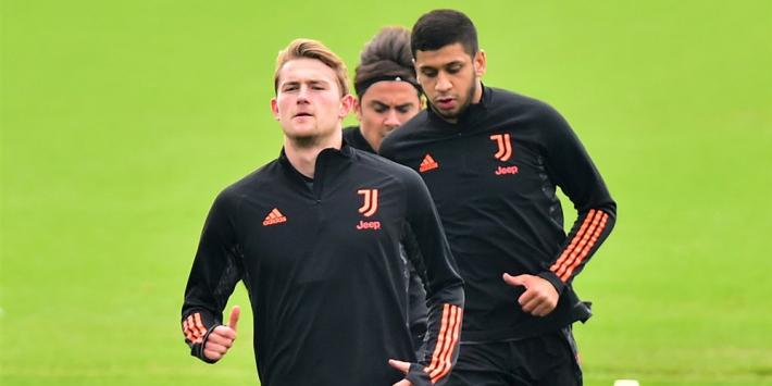 De Ligt laat gezicht weer zien op training Juventus