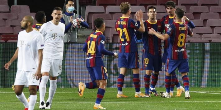 Koeman en FC Barcelona tanken vertrouwen, De Jong imponeert