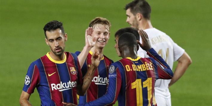 Frenkie de Jong kijkt uit naar clash met Real Madrid
