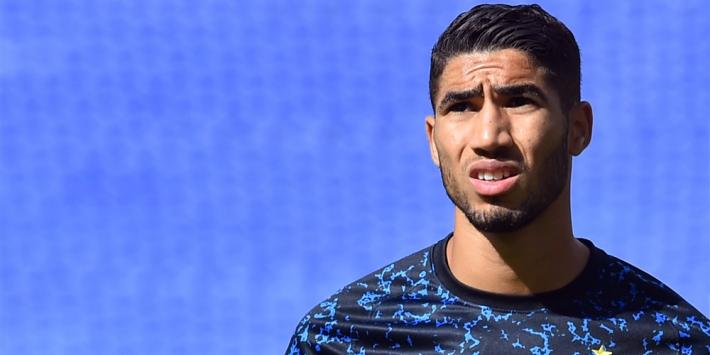 Hakimi haakt kort voor CL-duel met corona af bij Inter
