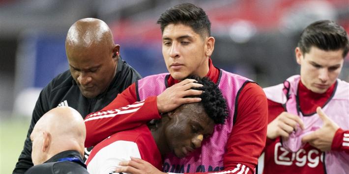 Ajax moet Kudus maanden missen door meniscusblessure