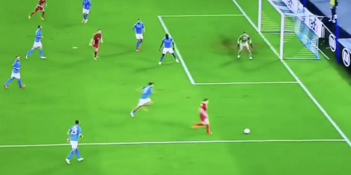 Video: De Wit zet AZ verrassend op voorsprong tegen Napoli