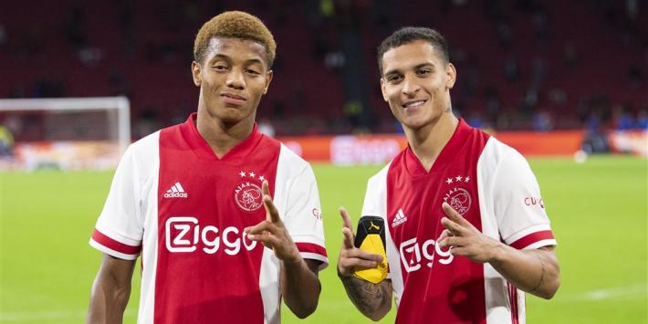 """Antony kon naar Duitsland en Spanje: """"Gelukkig Ajax geworden"""""""
