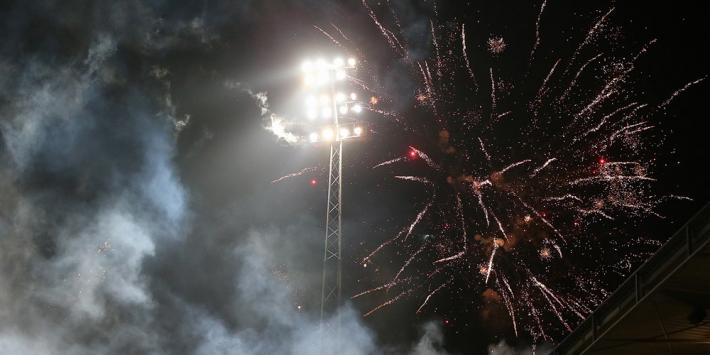Fans SC Cambuur vieren feest en houden geen afstand