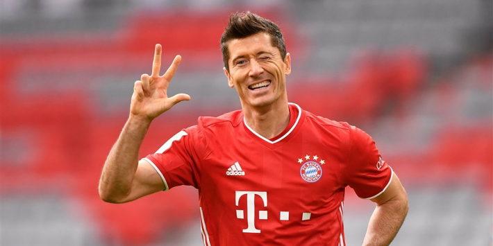 Bayern verpulvert Frankfurt dankzij hattrick Lewandowski