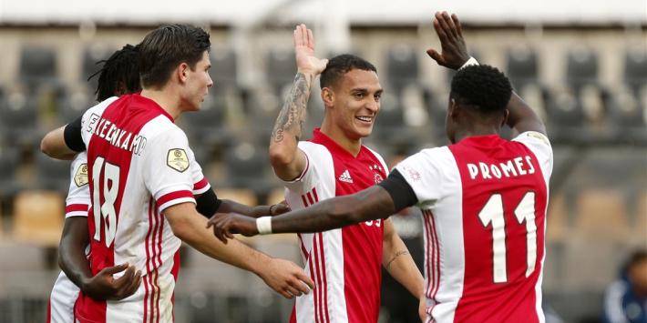 Social media: alles over de recordzege van Ajax op VVV