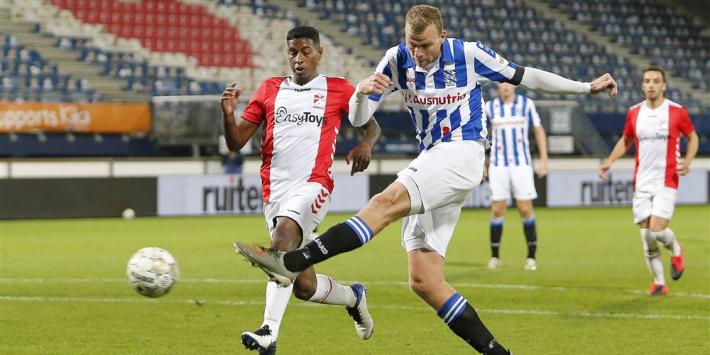 Heerenveen boekt ruime zege op negenkoppig FC Emmen