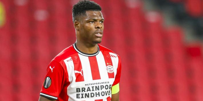 'PSV in gesprek met Dumfries over nieuwe verbintenis'