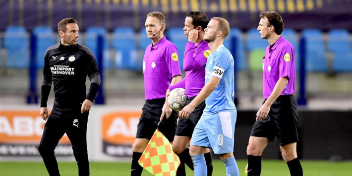Nijhuis twijfelt niet aan beslissing om penalty terug te draaien
