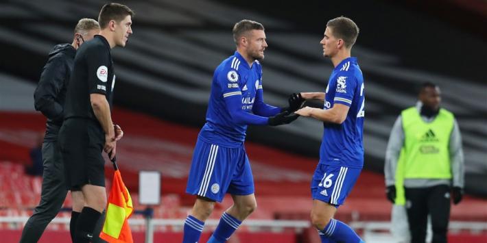 Arsenal blijft toppers verliezen: Leicester City ook te sterk