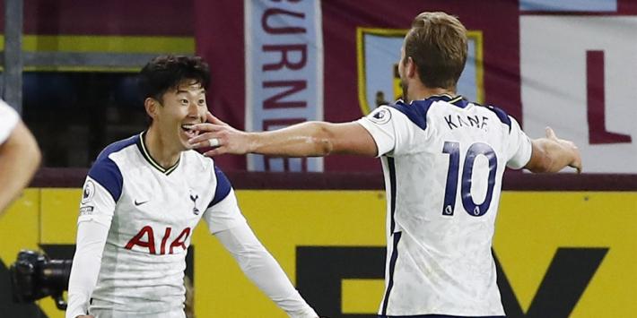 Tottenham Hotspur dankt Son en Kane tegen Burnley
