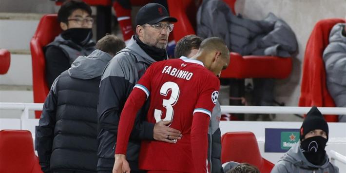 Verdedigende problemen Liverpool blijven na uitvallen Fabinho