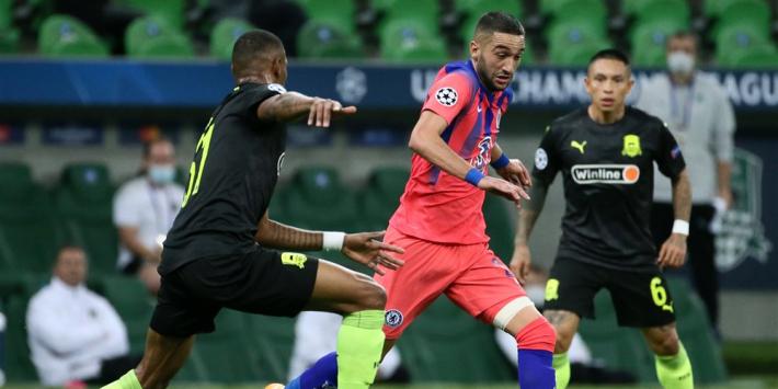 Ziyech maakt goal bij basisdebuut, PSG dankt Kean
