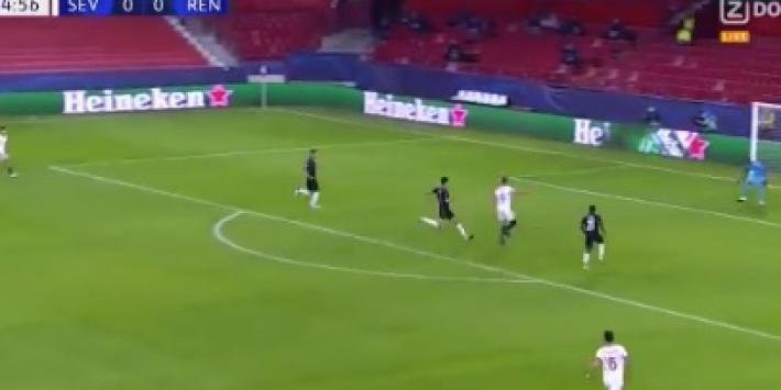Video: Luuk de Jong schiet Sevilla fraai op voorsprong