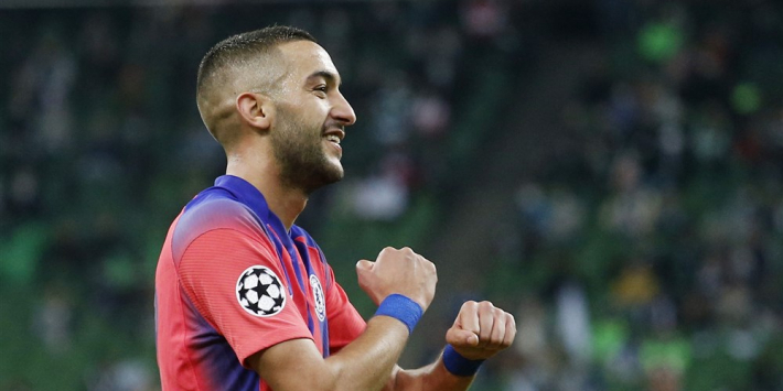 Ziyech bij basisdebuut tot Man of the Match verkozen door fans