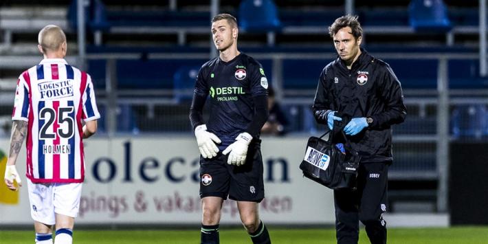 'Onaangepast' Willem II nog zonder keeper Ruiter tegen Vitesse