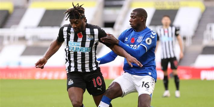 Everton geeft koppositie uit handen tegen Newcastle