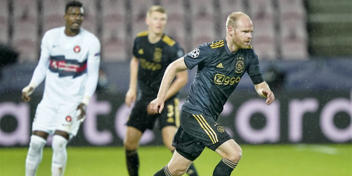 Klaassen, Labyad en Mazraoui in de basis, Antony bank