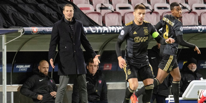 "Midtjylland-trainer: ""We zijn weggespeeld door Ajax"""