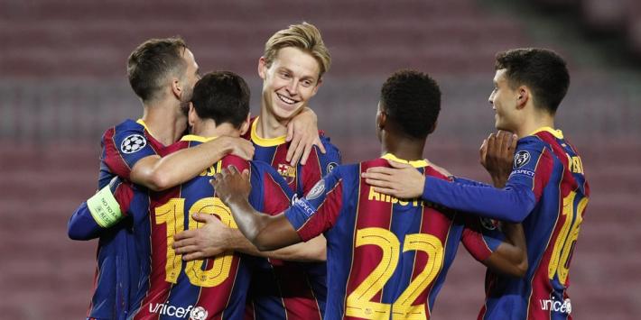 Ter Stegen helpt Barça aan moeizame zege op Dinamo Kiev