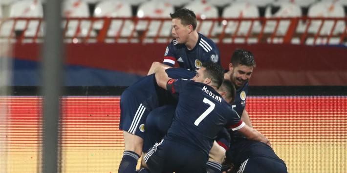 Schotland viert feest, EK-droom van Tadic en Servië spat uiteen