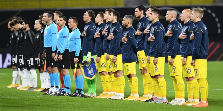 Oekraïne vecht reglementaire nederlaag tegen Zwitserland aan