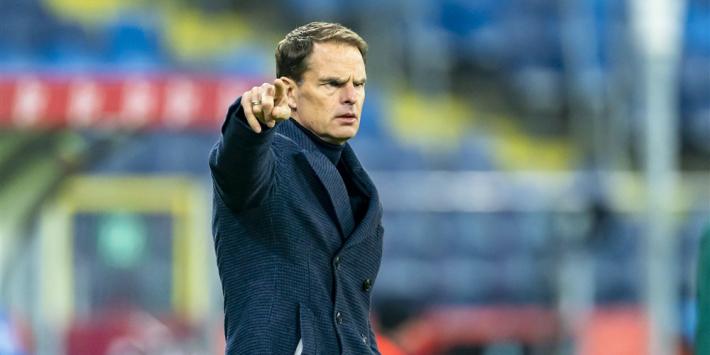 """De Boer hoopt op Van Dijk bij EK: """"Het zal erom spannen"""""""