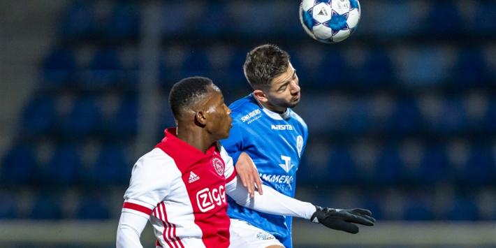 Jong Ajax verspeelt punten, remontada Jong PSV