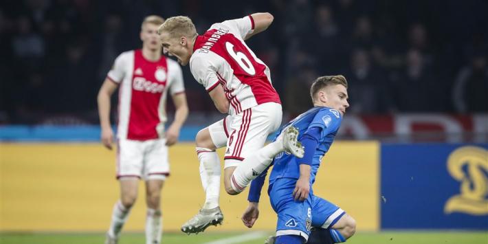 Bijleveld wil 'met de borst vooruit' zijn oude club Ajax verslaan