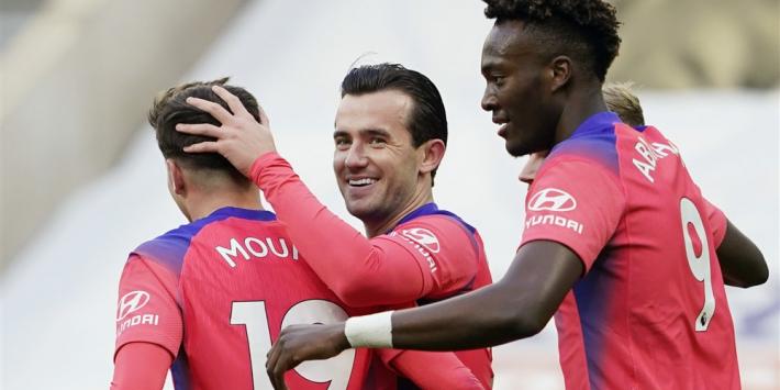 Eigen doelpunt Newcastle leidt zakelijke zege Chelsea in