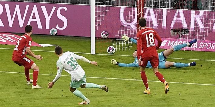 Bayern morst, Leverkusen wint en Weghorst is het goudhaantje