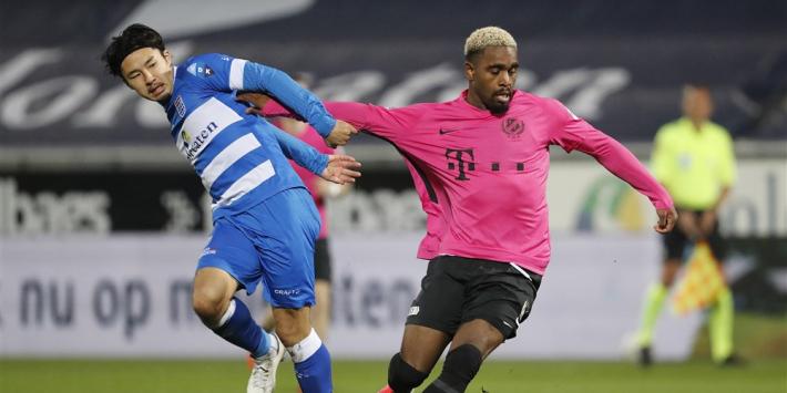 Slordig FC Utrecht weet ook in Zwolle niet te imponeren