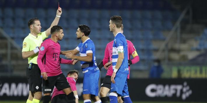 PEC Zwolle-speler Lam krijgt vijf (!) duels schorsing