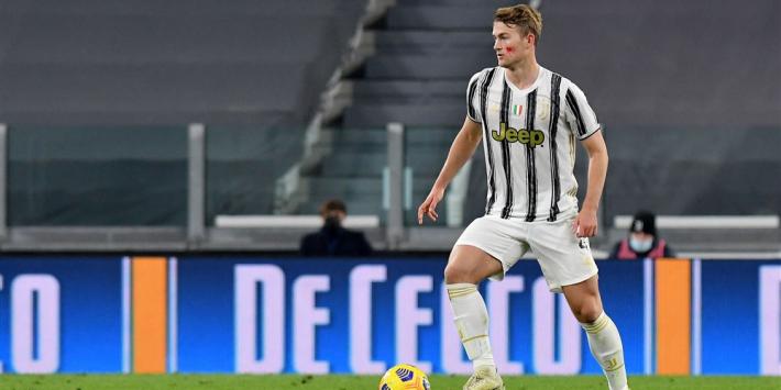 De Ligt en Chiellini keren terug op trainingsveld Juventus
