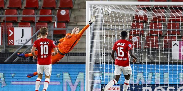 Matig AZ komt met de schrik vrij tegen tiental FC Emmen