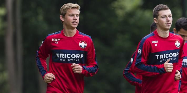 Heerenveen in 2015 dicht bij akkoord met Frenkie de Jong