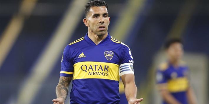 Tévez (36) kondigt afscheid aan als profvoetballer