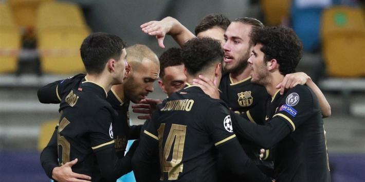 Gisteren gemist: Barça, Juve, Chelsea en Sevilla door, Dumfries