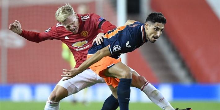 """Van de Beek tevreden: """"Daarvoor heeft United mij gekocht"""""""