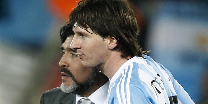 """Messi: """"Diego verlaat ons, maar hij is eeuwig"""""""